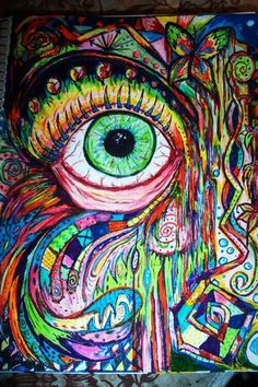 #hippie#love#bright#colourful#psychedelic#patterns#art