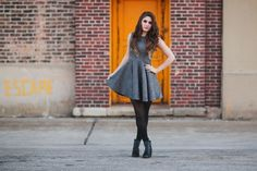 Tweed Dress, the kelly king collective, kellykingcollective, vintage inspired