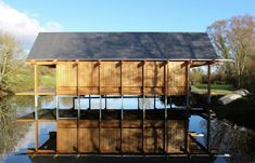 RIBA Announces Shortlist for 2015 Stephen Lawrence Prize,The Fishing Hut; Hampshire / Niall McLaughlin Architects. Image © Niall McLaughlin Architects