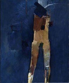 tekiela: John Keith Vaughan - standing figure - 1960