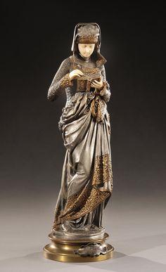 Albert Carrier Beleuse Bronze Sculpture 1880