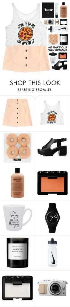 """i'm worth it"" by untake-n ❤ liked on Polyvore featuring philosophy, NARS Cosmetics, Ice-Watch, Byredo, NIKE and MAC Cosmetics"