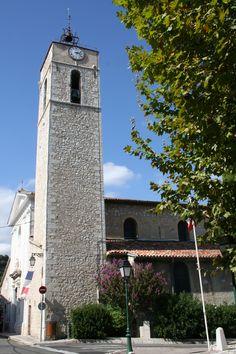 Église Saint Jacques, La Colle-sur-Loup #lacolle Saint Jacques, San Francisco Ferry, France, Nice, Building, Old Stone, Wolves, Buildings, Nice France