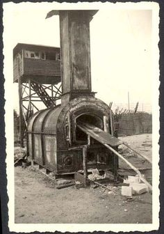 Bergen-Belsen, Germany, The Crematorium After the War