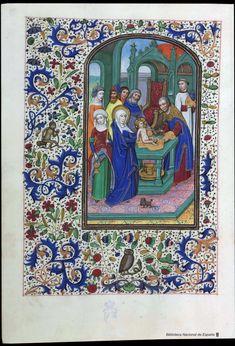 Libro de horas de Leonor de la Vega. Manuscrito — 1401-1500?