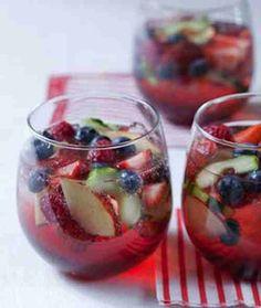 Sparkling Fruit Punch!