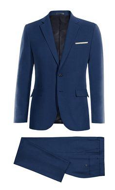 Blue wool Suit http://www.tailor4less.com/en-us/men/suits/3975-blue-wool-suit