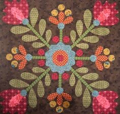 Vintage Berry Blossoms Block - email copy