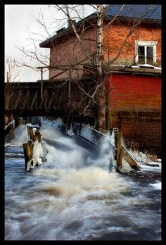 Old Mill, Koylio, Finland Copyright: Eino Kuvaja Finland, Denmark, Norway, Sweden, Westerns, Europe, Spaces, Country, World