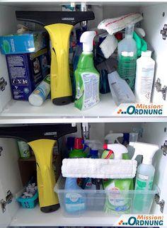 Mission:ORDNUNG: Ordnung im Bad - Waschbeckenunterschrank