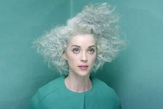 """St. Vincent: """"I have this sound in my head. How do I get it here in my fingers?""""   Talking Bob Dylan, the nature of pop music and that new album and gray hair with the always brilliant Annie Clark (by Rick Moody)                              ..."""