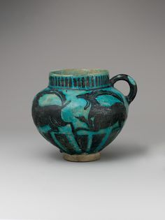 Cup with Running Ibexes Object Name: Cup Date: second half 12th century Geography: Iran, probably Rayy Culture: Islamic