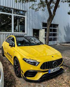 Mercedes A45 Amg, Mercedes Car, Mercedes A Class, Benz A Class, Best Luxury Cars, Benz Car, Fighter Aircraft, Car Wrap, Sexy Cars
