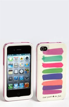 kate spade new york 'paint swatches' iPhone 4 & 4S case available at #Nordstrom