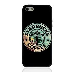 Amazon.com: Hard Iphone 5c Case Phone Cover with Black Borders Starbucks: Cell Phones & Accessories