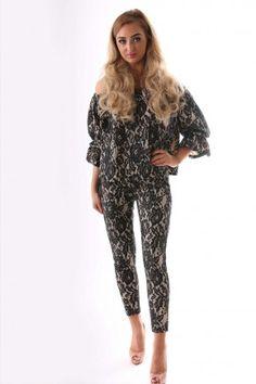 Bardot Top And Bottom Suit