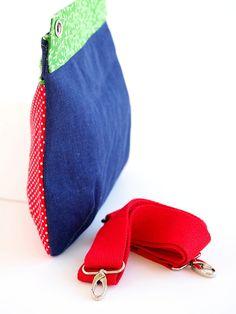 Tasche Malu: klein, handlich und einfach schick. Gibt es für alle Selbermacher als Schnittmuster in meinem Shop oder natürlich die fertige Tasche :-)