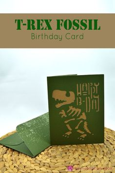 Learn to make this T-Rex Fossil Birthday Card on your Cricut with our simple…