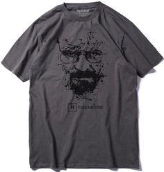Breaking Bad Inspired Heisenberg T-Shirt Homme Haut