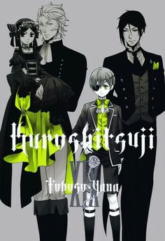 Kuroshitsuji - Black Butler #Anime #Manga Vol.19