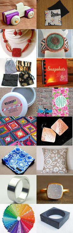 Square Peg, Meet Round Hole by Nancy Goldstein on Etsy--Pinned with TreasuryPin.com #septemberfinds
