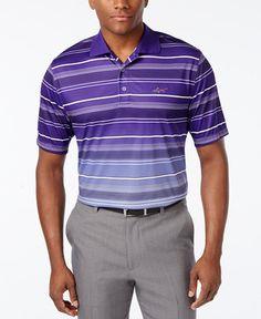 aca9bbde1 Greg Norman for Tasso Elba Men s Striped Golf Polo   Reviews - Polos - Men  - Macy s