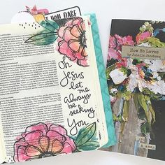 Bible journaling products are now available at @zoechristianbookstore ! We have journaling bibles in KJV, NIV, and NLT and bible journaling kits which include pens, stickers and more! #biblejournaling