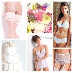 Jaro, slunce, láska všude kolem nás. Plánujete detaily na Váš svatební den? Nechte se inspirovat těmito produkty. Bíle krajkové prádlo, jemné punčochy i svůdně vypadající podvazky -  to vše u nás najdete. #wedding
