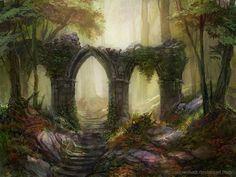 Forest 3 by SnowSkadi on deviantART