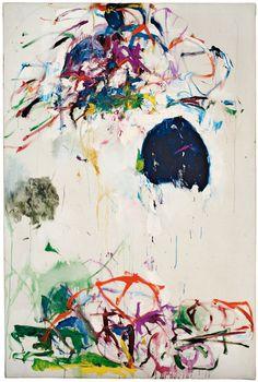 irakalan:    Artist JOAN MITCHELL   (  Untitled, 1968–69. Oil on canvas)