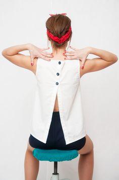 Descubierta Dressmaking Imágenes 14 Mejores Espalda Blusas De wcHSnxO1Zq