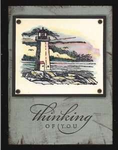 coast to coast by Kim Van De Riet - Cards and Paper Crafts at Splitcoaststampers using Stampin' Up! Coast to Coast retired stamp set.