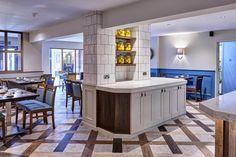 Kings Court Hotel, centre unit, seating area, dining, floor design, interior design, hotel dining