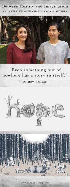 'Even something out of nowhere has a story in itself' | Between Reality and Imagination: An Interview with Chatchanok Wongvachara and Suthipa Kamyam