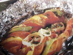 Herkkulenkki foliossa grillille Kotikokki.netin nimimerkki Mari76:n reseptillä