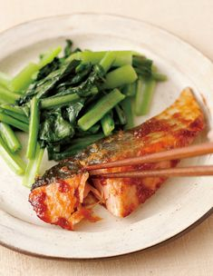 Japanese Food, Eating Well, Seafood Recipes, Orange, Veggies, Food And Drink, Meat, Chicken, Cooking
