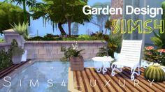 Sims 4 - House building - Garden Design