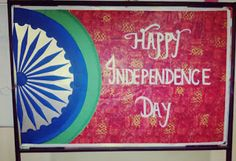Art ,Craft ideas and bulletin boards for elementary schools: Independence Day bulletin board