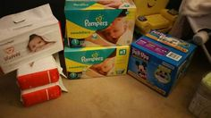 Brand new diapers and pull ups
