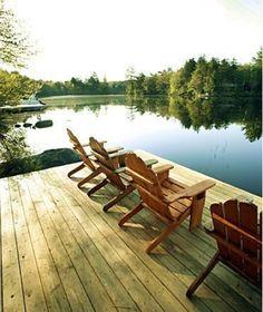 lakeside summer + adirondacks