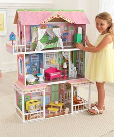 $85-Another great find on #zulily! Sweet Savannah Dollhouse #zulilyfinds
