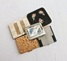 Vintage & Antique Compact Lot  5  Various Make door MaejeanVintage, $50.00