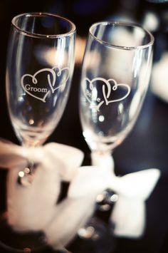 Cheers! Photo by Angela. #minnesota #wedding #decor