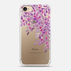 Casetify iPhone 7 Snap Case - Mistletoe watercolor n.3 by Psychae