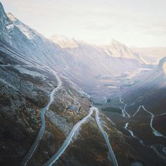 """One of the most memorable places I've seen, The Trollstigen road in Norway. I've been back home in France planning a serious adventure through Europe with…"""