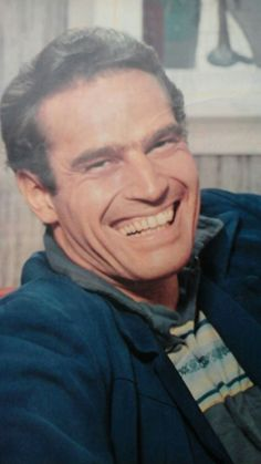 Charlton Heston, love his smile.