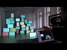 Projection Mapping as a Mobile DJ