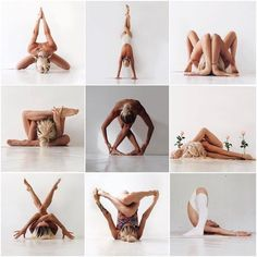 Yoga Poses Amazing Which one is of these beautiful poses do you want to learn the most