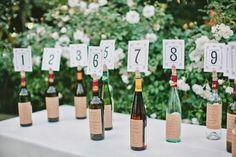 Pink Cupcake Weddings: Creative DIY Table Numbers