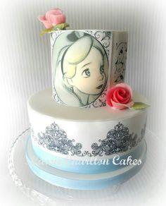 Beautifully painted Alice in Wonderland